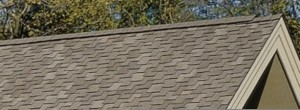 Presidential shingles have a distinct profile appearance